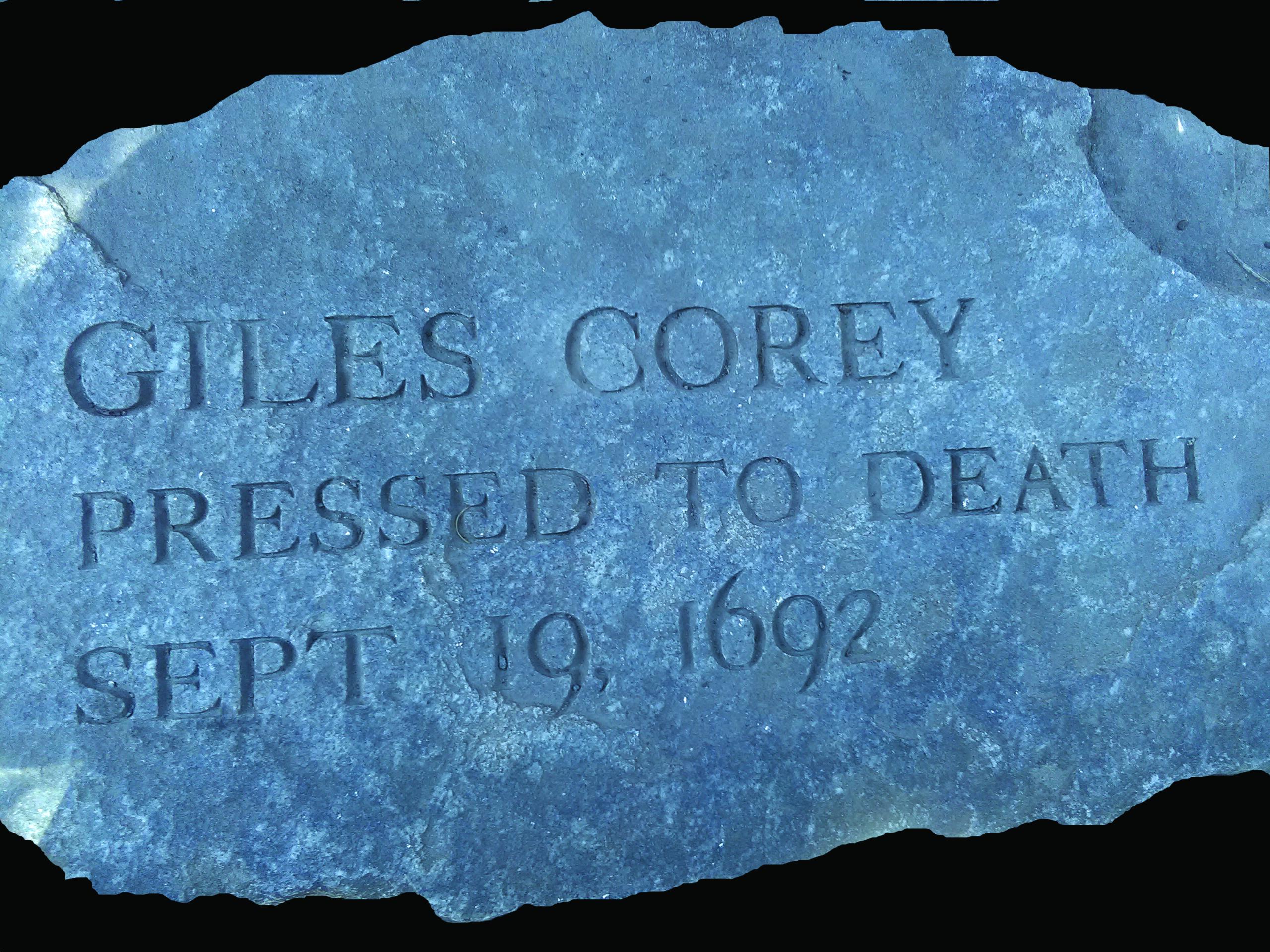 Giles Corey Memorial